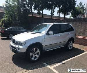 BMW X5 3.0i Silver 2004 Sport Automatic Service History MOT Alloys Full Leather for Sale