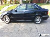 2000 BMW 5-Series Black