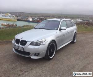 Silver BMW 525 M Sport Touring estate - Alpina Styling for Sale