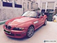 BMW Z3 automatic 2.0 - In Stunning Red ( Very Fast !! ) Wide body model 1999