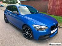 2013 BMW 1 series m135i replica 118i m sport m performance estoril blue 116i px