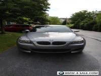 2007 BMW M5 6MT