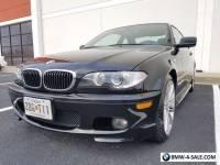 2005 BMW 3-Series e46 330ci 330i ZHP 3.0L I6 RWD Performance Coupe Black Leather
