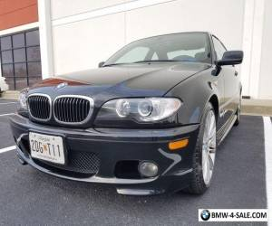 2005 BMW 3-Series e46 330ci 330i ZHP 3.0L I6 RWD Performance Coupe Black Leather for Sale