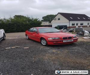 2001 bmw 318i red for Sale