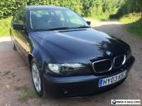 2003 BMW 318I SE FACELIFT E46 SALOON BLUE