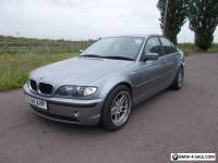 2004 BMW 320D ES 3 SERIES 4 DOOR SALOON SERVICE HISTORY GREY