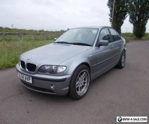 2004 BMW 320D ES 3 SERIES 4 DOOR SALOON SERVICE HISTORY GREY for Sale