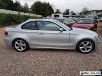 2008 BMW 120d SE coupe diesel silver automatic