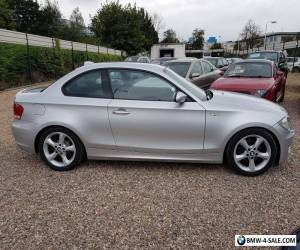 2008 BMW 120d SE coupe diesel silver automatic  for Sale