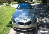 2005 BMW 6-Series 645 Ci Sport Package for Sale