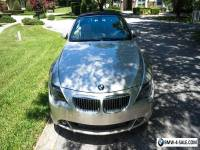 2005 BMW 6-Series 645 Ci Sport Package