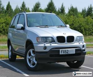 2002/52 BMW X5 3.0D DIESEL AUTO 4X4 SUV - SILVER - GREY LEATHER - HEATED SEATS for Sale