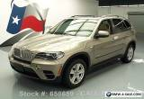 2011 BMW X5 XDRIVE35D AWD DIESEL PANO SUNROOF NAV for Sale