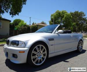 2005 BMW M3 Convertible for Sale