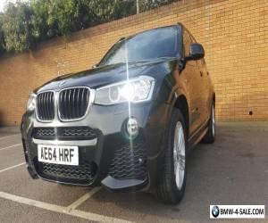 BMW X3 2.0D 2014 M Sport Auto for Sale