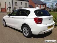 2013 (13 Reg) BMW 118d Auto Diesel White
