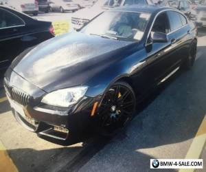 2013 BMW 6-Series Gran Coupe for Sale