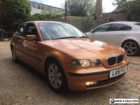 BMW 318ti COMPACT 3 SERIES,MOT,FSH.RARE INDIVIDUAL ORANGE,330,M3 CONVERSION.