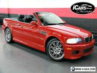 2002 BMW M3 Base Convertible 2-Door