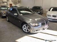 BMW 323i coupe 2008