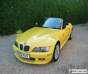 Stunning BMW Z3 2.2i (2002) Facelift body - Rare Dakar yellow for Sale