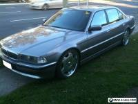 BEST LOOKING 1995 E38 BMW 730IL LOWERED CHROME WHEELS BIG STEREO SYSTEM LUXURY