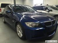 BMW 320i (2007) 'M' Sport Enhanced Executive Sedan. 6sp Manual Transmission.