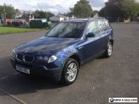 BMW X3 2.0d se *pleases read description sensor fault*