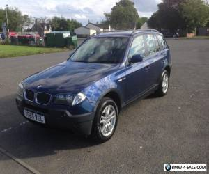 BMW X3 2.0d se *pleases read description sensor fault* for Sale