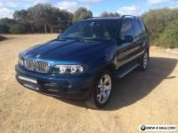 BMW X5 E53 Sports Blue 2002