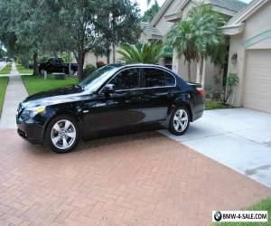 2007 BMW 5-Series Black Leather Interior for Sale