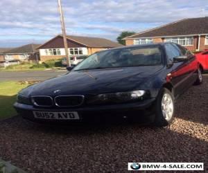 BMW 318i SE 2002 for Sale