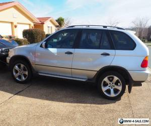 BMW X5 E53 3L TD SILVER 2003 IMMACULATE CONDITION for Sale