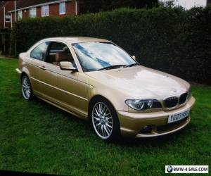 2003 bmw 320i m3 extras gold leather interior for Sale