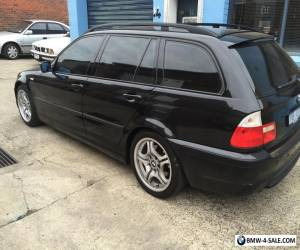 Cheap Cars 2003 Bmw e46 touring M spec Black Wagon BMW Wagon Leather  lts more for Sale