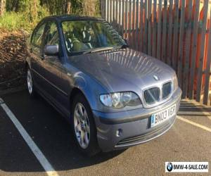 2003 BMW 3 SERIES 318i 2.0 PETROL 5 DOOR MANUAL BLUE for Sale
