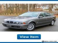 2003 BMW 5-Series Base Sedan 4-Door