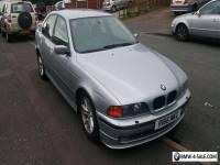 BMW E39 5 SERIES 528i SE AUTO SILVER 1998 LEATHER SEATS ALPINA BUMPER BMW PHONE