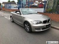 Bmw 118d 1 series 2009 (59) convertible cabriolet