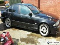 BMW E39 525i M SPORT AUTO 2002  CAT C FOR SPARES/REPAIR/BREAKING