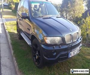 2002 BMW E53 X5 4.4i for Sale