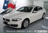 2014 BMW 5-Series 528I SEDAN TURBOCHARGED SUNROOF NAVIGATION for Sale