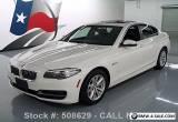 2014 BMW 5-Series 528I SEDAN TURBOCHARGED SUNROOF NAVIGATION for Sale