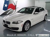 2014 BMW 5-Series 528I SEDAN TURBOCHARGED SUNROOF NAVIGATION