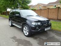 2004 BMW X5 3.0 D SPORT AUTO BLACK FSH VGC LAST OWNER 10 YEARS