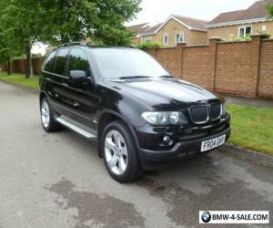 2004 BMW X5 3.0 D SPORT AUTO BLACK FSH VGC LAST OWNER 10 YEARS for Sale