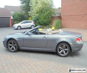 2007 57 BMW 630i M SPORT AUTO CONVERTIBLE IMMACULATE SWAP PX M3 M5 520D TDI 650  for Sale