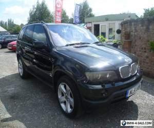 2001 BMW X5 3.0 SPORT PETROL MANUAL BLACK for Sale