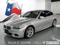2013 BMW 5-Series 535I M SPORT TECHNOLOGY SUNROOF NAV HUD